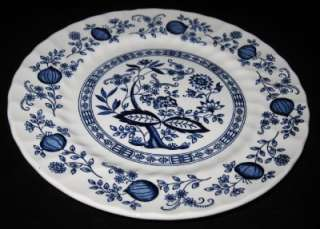 Crown Clarence Blue Onion Dinner Plate, 9 7/8