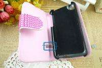 Rhinestone Bling Wallet Case Cover F iPhone 3 3G/S#A532