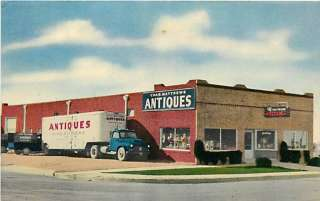 TX FORT WORTH CHAS. MATTHEWS ANTIQUES TRUCK R11003