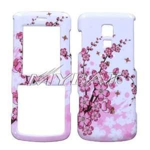 Spring Flower Design Snap On Hard Case for LG Glance (VX 7100 / UX