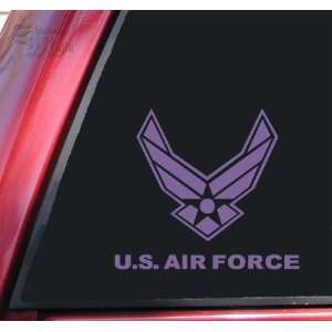 U.S. Air Force Vinyl Decal Sticker   Lavender Automotive