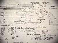 COLT 1851 Navy old Army BLACK POWDER PISTOL gun Plans