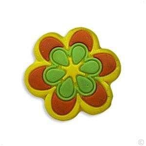 Style your Crocs Shoe Charm bright colors Flower #1025, Clogs stickers