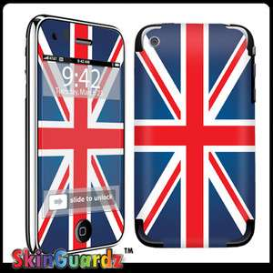Union Jack Vinyl Case Decal Skin To Cover Your Apple IPHONE 3G 3GS