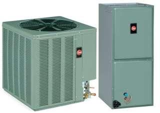Ton Rheem 15 SEER R 410A Heat Pump Split System