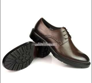 OXFORDS SHOES Leather Dress Shoes Lace up brown or black New