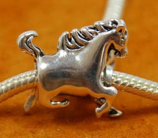 925 Sterling Silver European Bead ANIMAL CHARMS many styles to choose