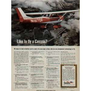 1969 Cessna 150 Commuter. Like to fly a Cessna Ad, A1571