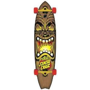 Santa Cruz Big Wave Tiki Shark Cruzer Complete Skateboard Deck