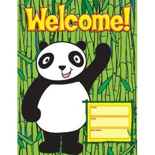 Scholastic TF2500 Panda Birthday Chart Teachers Friend