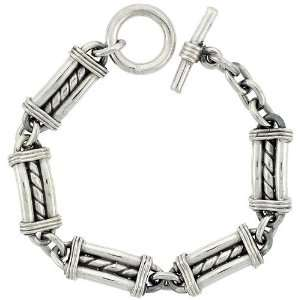 Made Bullet Chain Link Toggle Type 8.5 in. Bracelet, 1/2 in. (12.5mm