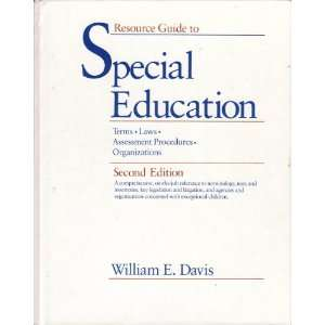 Resource Guide to Special Education Terms, Laws