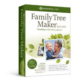 Family Tree Maker 2006 Deluxe [Old Version] Software