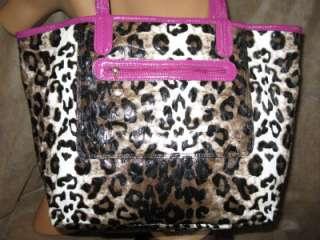NWT Kathy Van Zeeland Flip Out Large Tote Handbag Purse Blue Black