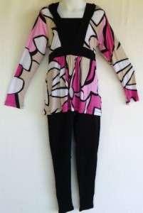 Girls Plus Size 3 Patterns Empire Waist Top Shirt RealKidz Long Sleeve