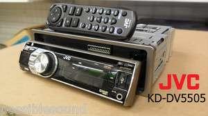 JVC KD DV5505 DIN Car stereo DVD player CD  USB ipod iphone