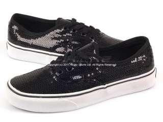 Vans Authentic (Glitter Dots) Black/White VN 0NJVL8C