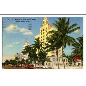 Reprint Palatial ocean front hotels, Miami Beach, Fla: Home & Kitchen