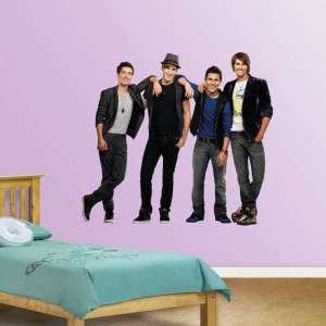 Big Time Rush Nickelodeon Licensed Fathead Wall Graphic