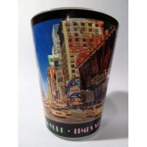 New York City Postcard 217 Shot Glass Kitchen & Dining