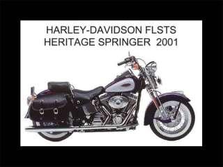 2001 HARLEY DAVIDSON FLSTS HERITAGE SPRINGER FRIDGE MAGNET (MC)