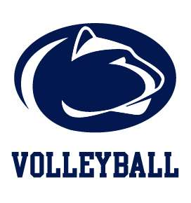 PENN STATE NITTANY LIONS VOLLEYBALL clear vinyl decal sticker car