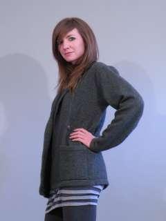 Ralph Lauren PURPLE label 100% Cashmere Sweater gray M