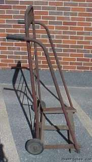 Early Antique Coca Cola Store Display Stand Hand Truck
