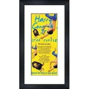 HARRY CONNICK JR Star Turtle   Custom Framed Original Ad   Framed