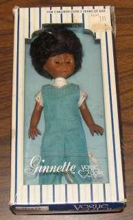 Ginnette 1978 8 Inch Ginny Vogue Dolls African American Black
