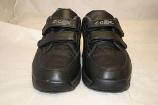COIL ZCOIL MENS USA 9 EURO 42.5 BLACK GENUINE LEATHER COMFORT