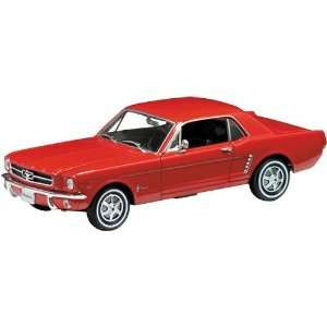 Welly 1/18 1964 1/2 Ford Mustang Red Toys & Games