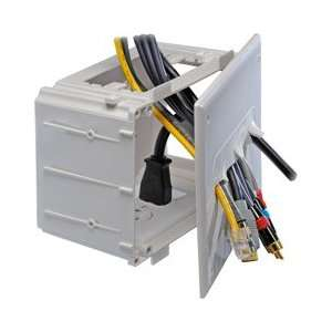 MEDIA BOX WHITE (Home Automation / Wall Plates  Modular) Electronics