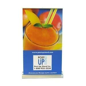 Retractable Table Top Banner Stand 11.75 x 21