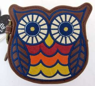 Loungefly Owl Brown Wallet Coin Bag Purse Clutch Pocketbook Cool NEW