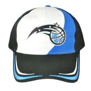 Nba Orlando Magic Black Hat Cap Velcro Cotton New Osfa