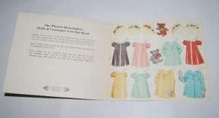 Quintuplets Dolls & Costumes Cut Out Book Paper Dolls UNCUT