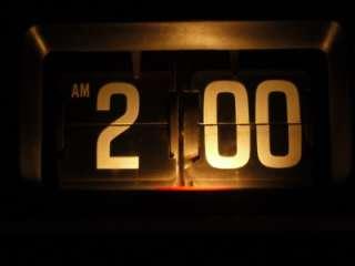 Panasonic Flip Clock Radio Copal Movement Eames Danish Howard