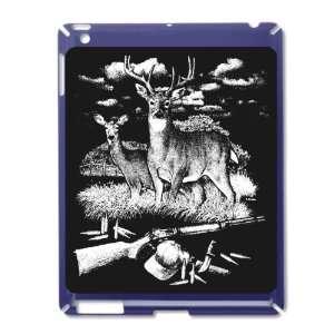 Royal Blue of Deer Hunting Buck Doe Rifle and Hat: Everything Else