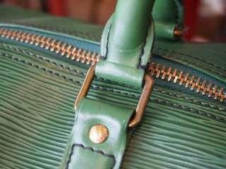 VUITTON EPI KEEPALL 45 MONOGRAM DUFFLE TRAVEL BAG / VI884