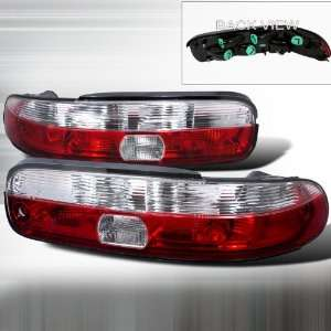 1992 1995 Lexus Sc 300 Altezza Tail Light Red Clear