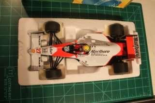 18 Minichamps Ayrton Senna McLaren MP4/5B 1990 World Champion Die