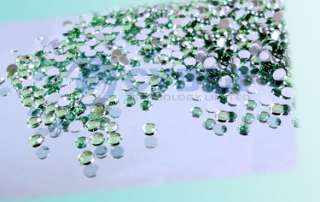 3000 pcs Mix Color Teardrop Nail Art Rhinestones Deco Glitters Gems