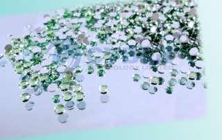 3000 pcs Mix Color Teardrop Nail Art Rhinestones Deco Glitters Gems
