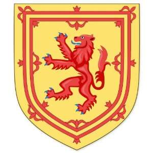 Royal Arms of Scotland Flag car bumper sticker window