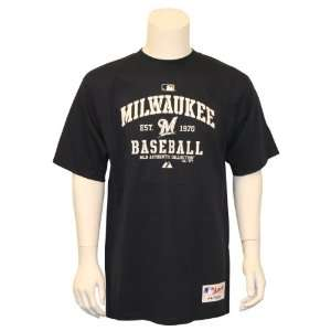 MLB Teams Established In T Shirt   Milwaukee Brewers
