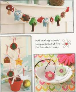 From Felt to Fabulous iPod holder Hair Clips Patterns Ornaments Sewing