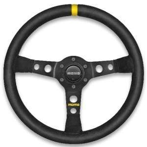 MOMO MOD 07 Suede Steering Wheel + MOMO Hub BMW E30