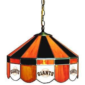 San Francisco Giants 16 Stained Glass Pub Lamp Sports