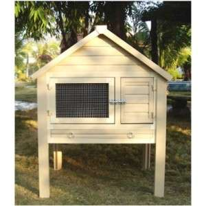 Multi Rabbit Hutch Cage 2 Story Tier Eco Friendly NEW